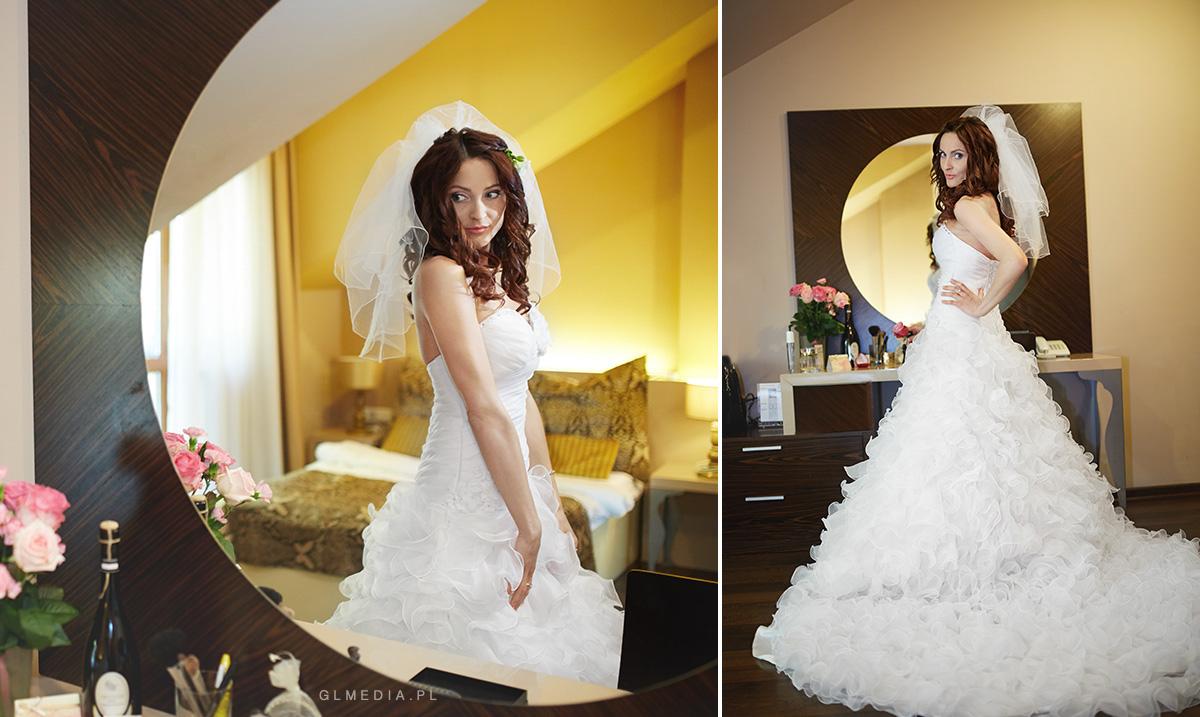 przygotowania ślubne fotografia ślubna krosno suknia ślubna