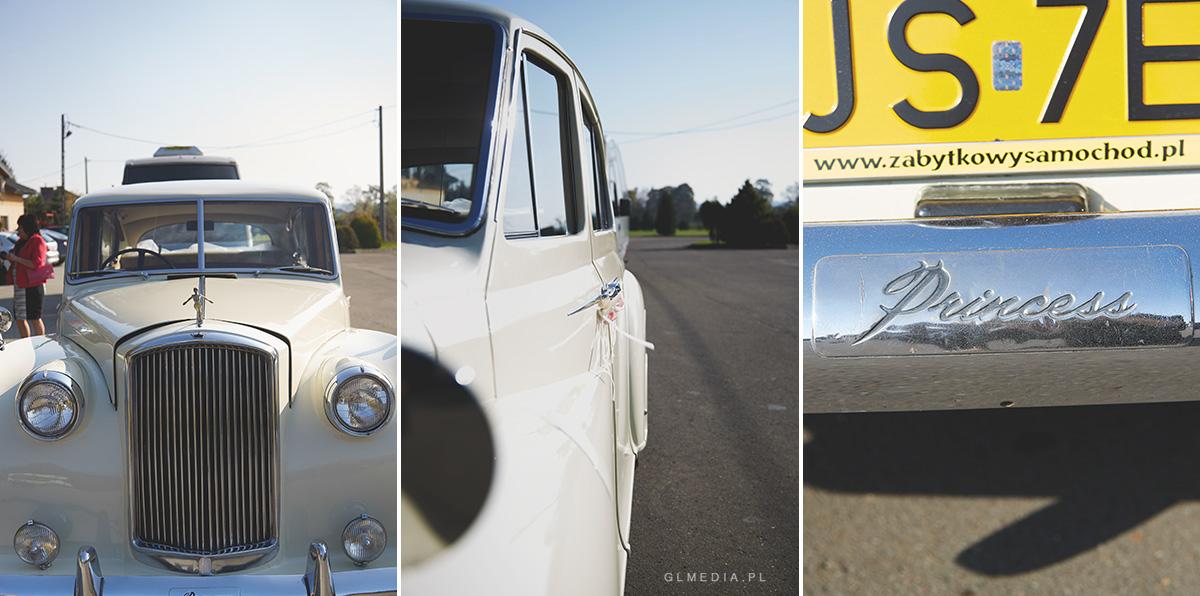 samochód do ślubu Rolls-Royce
