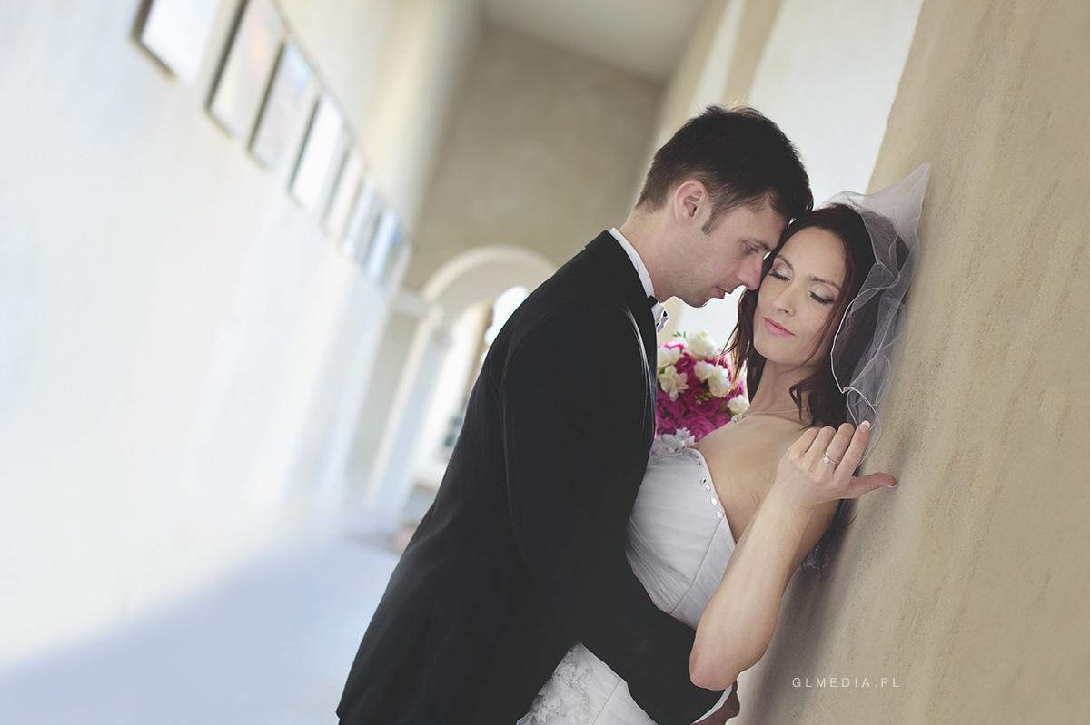 plener ślubny podcienia