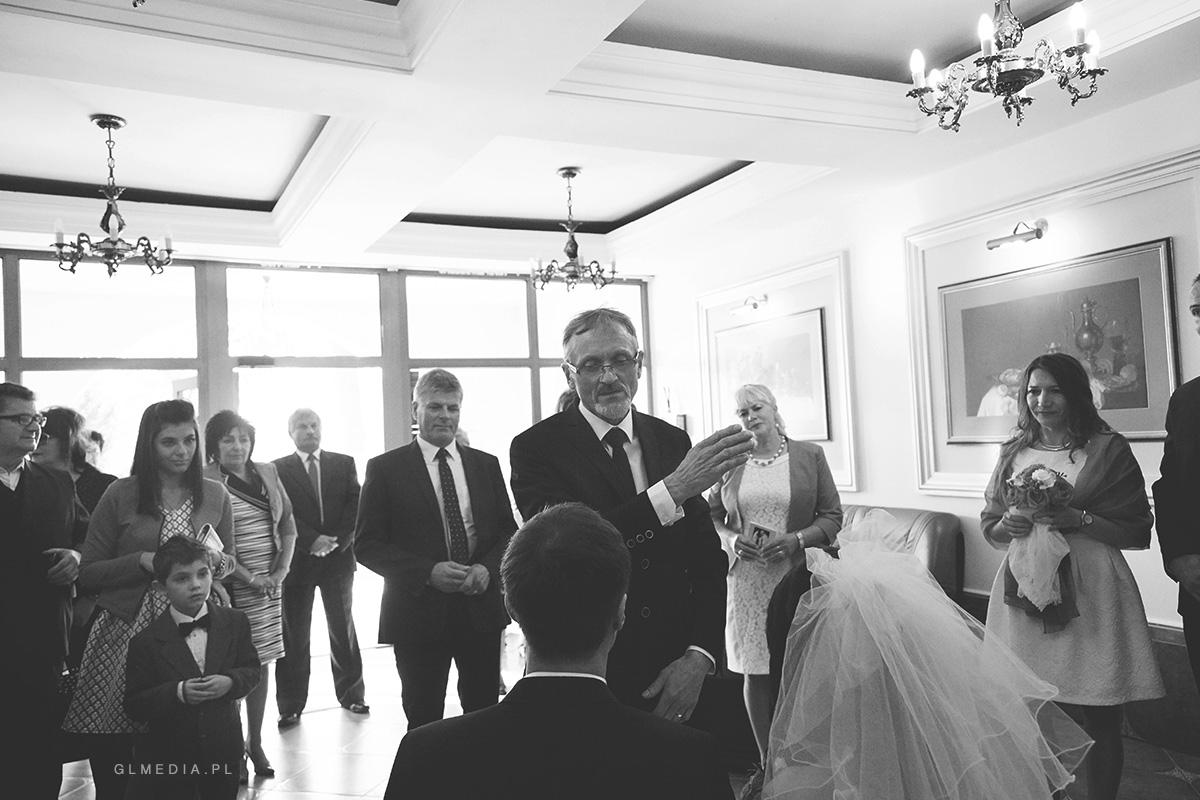 Błogosławieństwo fotografia ślubna Krosno