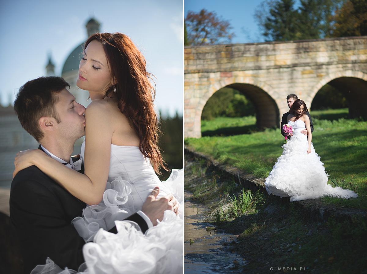 romantyczny plener ślubny Krasiczyn