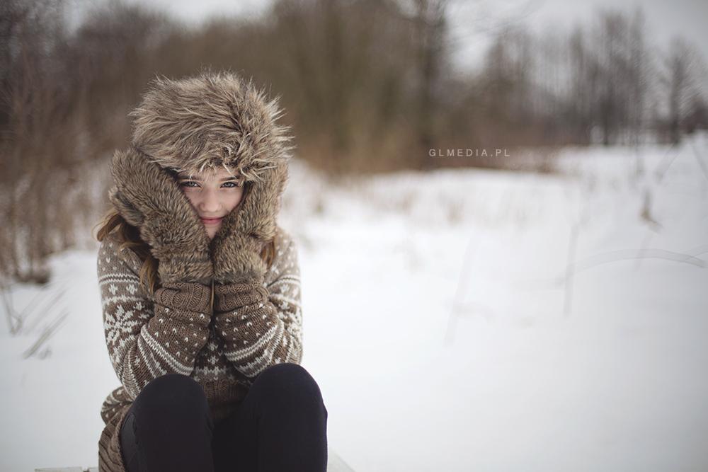 Zimowo w plenerze-Maja7 |fot. GLmedia