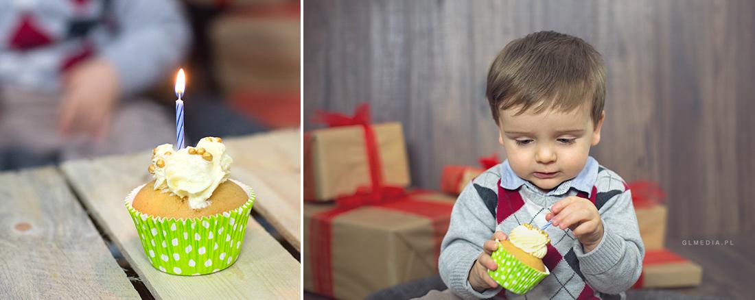 muffinka urodzinowa