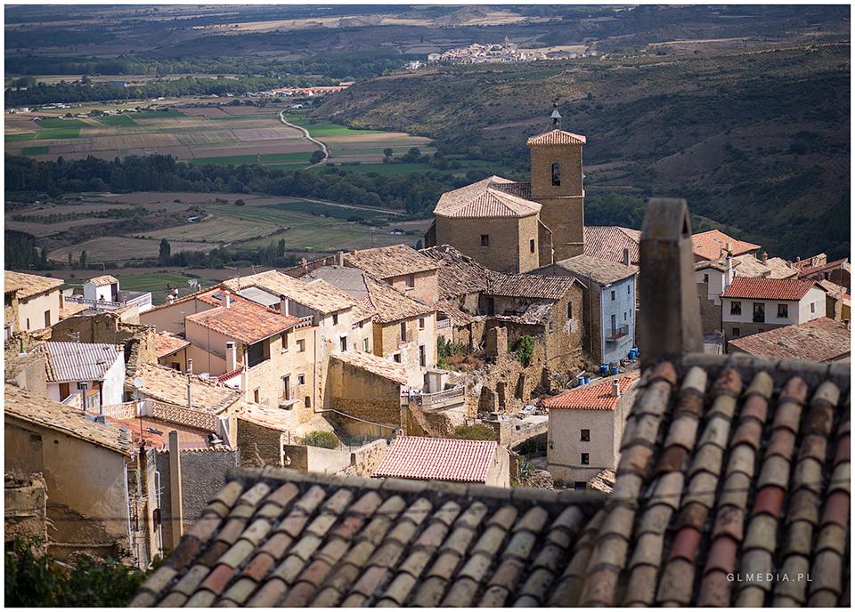 Stare miasteczko w Hiszpanii Plener ślubny